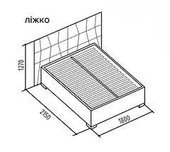"""Кровать """"Прайм"""" 160х200 с механизмом TM Embawood, фото 3"""