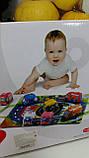 Набор мягких машинок + игровой коврик Huanger Cars in town HE0244, фото 2
