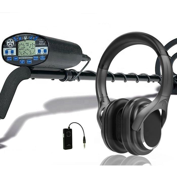 Бездротові навушники INDA DAT998 для металошукачів з бездротовим передавачем