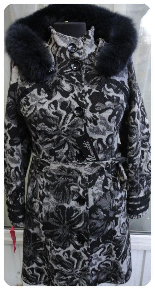 Пальто женское зимнее Almatti модель Зц-7