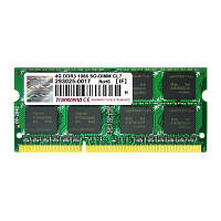 Оперативна пам'ять 4GB SODIMM DDR3 PC3-8500 (1066MHz) Transcend (TS4GAP1066S)