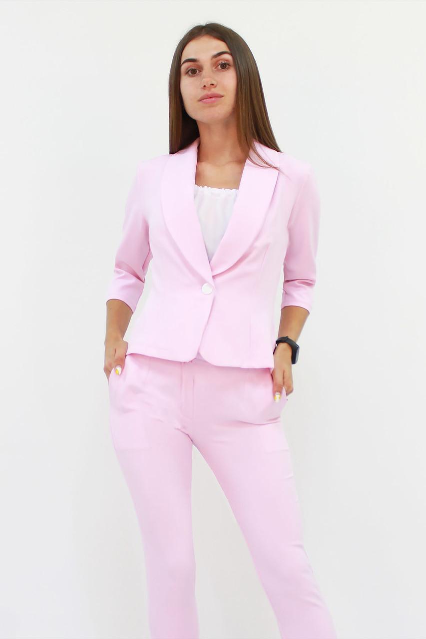 Вишуканий жіночий костюм Melage, рожевий