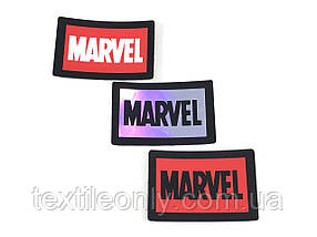 Нашивка Marvel / Марвел різні види 60х40 мм