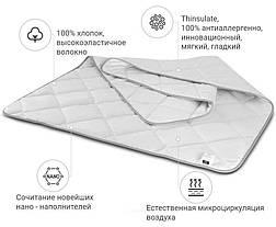 Одеяло ТИНСУЛЕЙТ полуторное Демисезон 155x215 Poyal Pearl MirSon 084, фото 2