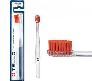 Зубна щітка Tello 3940 medium середньої м'якості blister