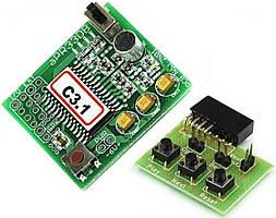 Радиоконструктор M280C модуль обработки звука APR33A3C3