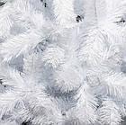 Елка белая снежная 2.2 м искусственная с подставкой классическая ПВХ, ель искусственная заснеженная Лесная бел, фото 3