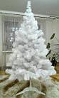 Елка белая снежная 2.2 м искусственная с подставкой классическая ПВХ, ель искусственная заснеженная Лесная бел, фото 8