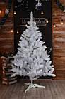 Елка белая снежная 2.2 м искусственная с подставкой классическая ПВХ, ель искусственная заснеженная Лесная бел, фото 9