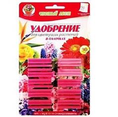 Удобрение в палочках для Цветущих ЧИСТЫЙ ЛИСТ, блистер 30 шт.