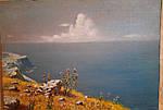 Копия картины. Море, Крым. КУИНДЖИ, 25х35, холст на двп.