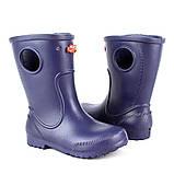 Детские сапоги из пены ЭВА. Непромокаемые, резиновые. Германия - Украина. Весенние сапожки без утеплителя, фото 6