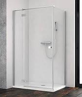 Дверь прямоугольной душевой кабины Radaway Essenza New KDJ 100 хром/прозрачное
