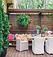 Дерев'яна декоративна решітка — 3R (Вільха, Бук, Клен, Ясень, Дуб), фото 9
