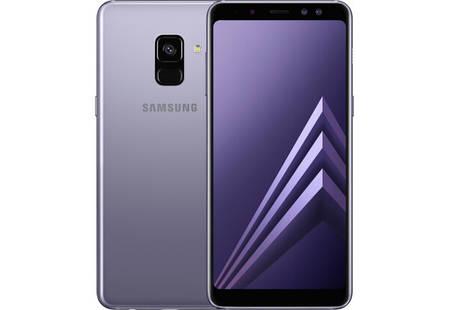 Смартфон Samsung Galaxy A8 A530F Orchid Gray Stock A, фото 2