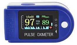 Пульсоксиметр Pulse Oximeter JZK LYG90 пульсометр електронный на палец оксиметр