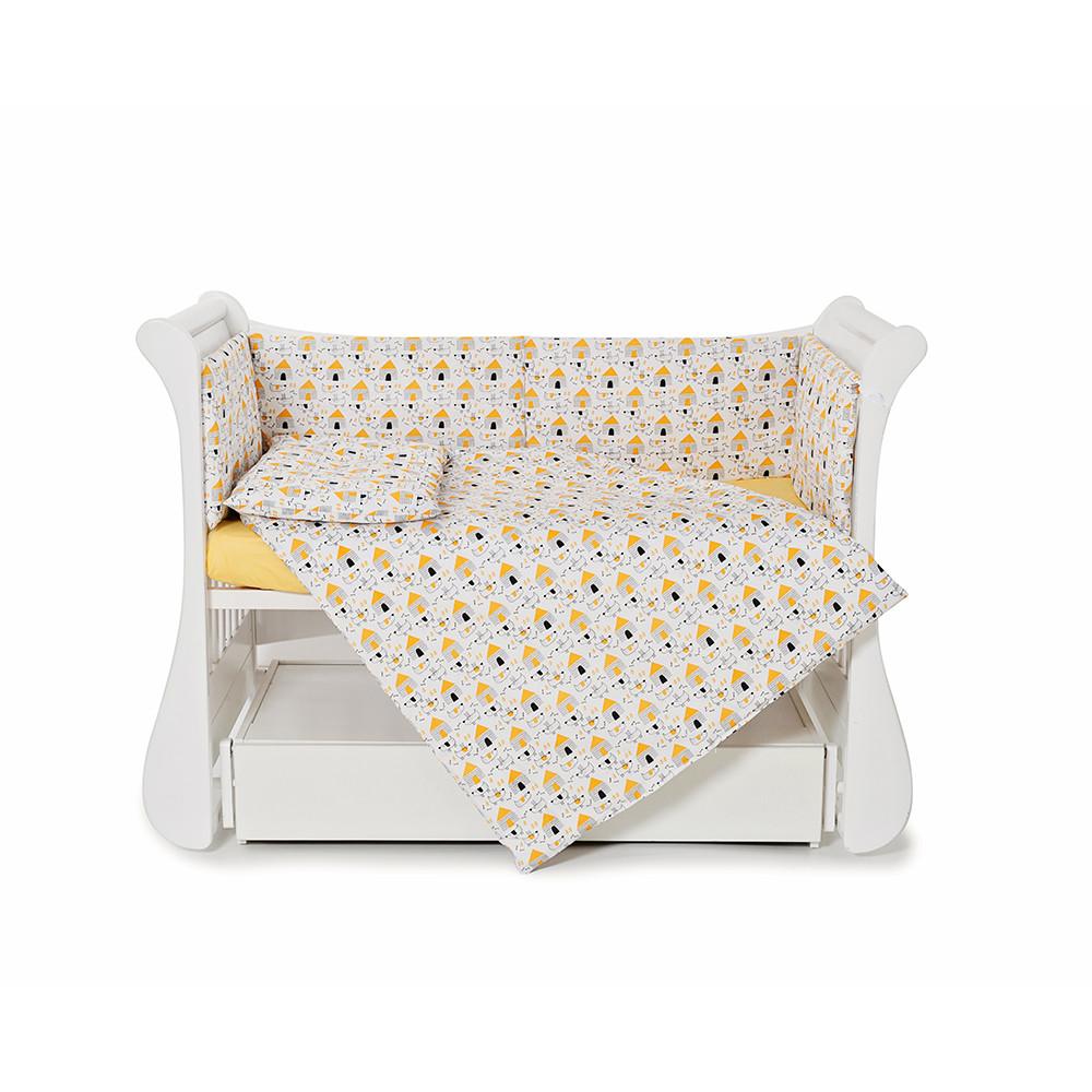 Бампер для детской кроватки Twins Comfort line C-071 Собачки