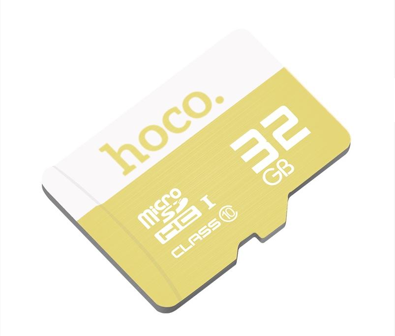 Карта памяти micro HOCO 32 GB Желтый