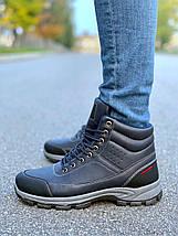 Мужские Ботинки Еврозима Мужская Обувь Размеры 41, 42, 43, фото 2