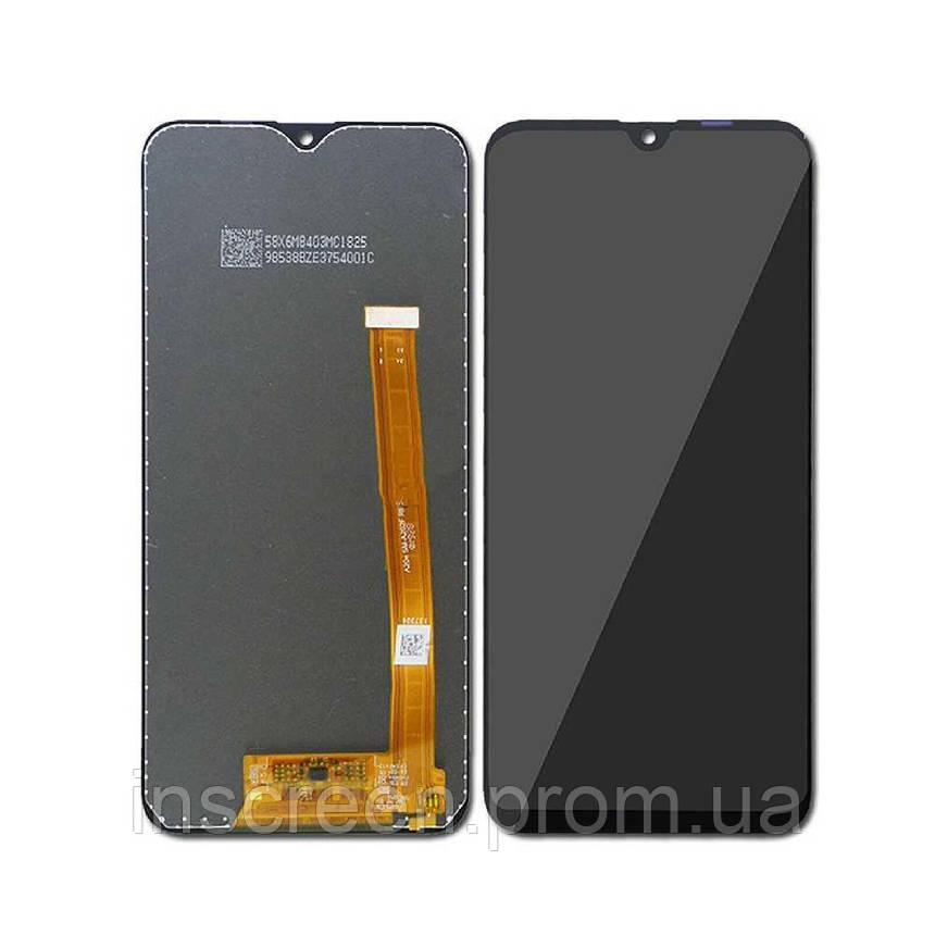 Дисплей Samsung A202 Galaxy A20E 2019 з сенсором (тачскрін) чорний, фото 2