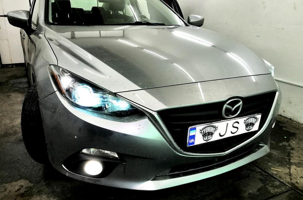 Установка ксенона Mazda 3