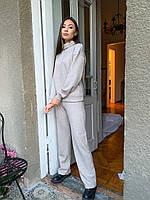 Теплый женский костюм с брюками, фото 1