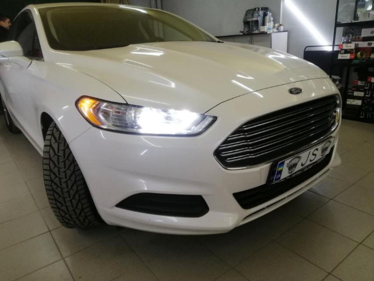 Установка ксенона Ford Fusion