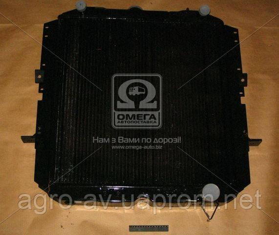 Радиатор вод. охлажд. (260Ш-1301010ВВ) КрАЗ-260 (4-х рядн.)(пр-во ШААЗ)