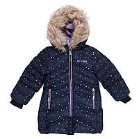 Пальто зимнее для девочки Nano F20M1252_NavyBlue размер 116
