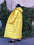 Пальто зимнее Монако желтое, фото 2