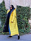 Пальто зимнее Монако желтое, фото 3