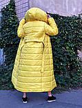Пальто зимнее Монако желтое, фото 5