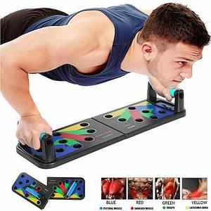 Спортивная доска тренажер Push Up Rack Board jt-006 с разными хватами