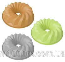 Форма для выпечки силиконовая 26*6,5см Пастель 20004