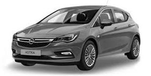 Opel Astra K 2015-