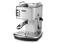 Рожковая кофеварка DeLonghi Scultura ECZ351.W, фото 1