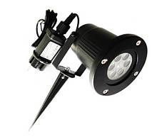 Светодиодный проектор  Рождественский водонепроницаемый