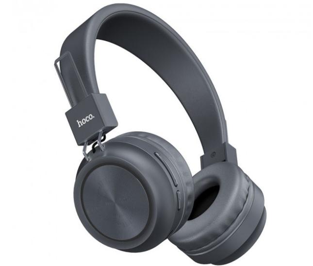 Беспроводные наушники Bluetooth HOCO W25 Promise Серый
