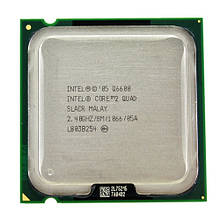 Процессор Intel Core 2 Quad Q6600, 4 ядра, 2.4ГГц, LGA 775