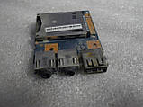 Плата с USB портом, аудио звук, картридер 48.4PA04.01M Lenovo B570, B575, V570, V575, фото 3