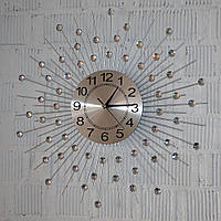 Металевий настінний годинник (60 см.), фото 1
