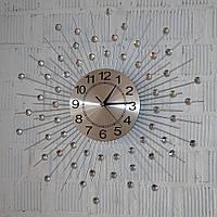 Металлические настенные часы (60 см.), фото 1