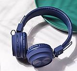Беспроводные наушники Bluetooth HOCO W25 Promise Синий, фото 3
