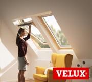 Мансардное окно Velux Стандарт GZL1051 CK02 55*78см ручка сверху + оклад BDX 2000 (0411)