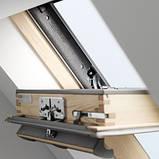 Мансардное окно Velux Стандарт GZL1051 CK02 55*78см ручка сверху + оклад BDX 2000 (0411), фото 3