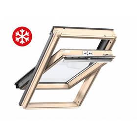Мансардное окно Velux Стандарт ПлюсGLL1061 FK06 66*118см экстра теплое ручка св+оклад EDW2000 (0413)