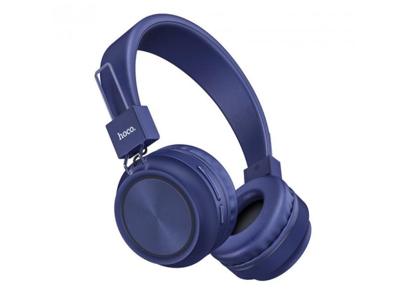 Беспроводные наушники Bluetooth HOCO W25 Promise Синий