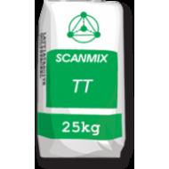 Шпаклевка стартовая на цементной основе SCANMIX  520ТТ белый 25кг (0694)