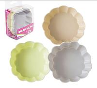 Набор силиконовых форм для выпечки кексов 7,5*2,2см Пастель 20011