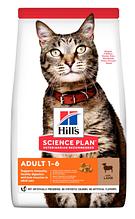 Сухий корм для дорослих кішок hill's (Хіллс) SP Feline Lamb з ягням і рисом, 1,5 кг